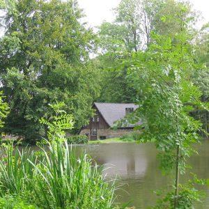Hammerwerk - Blick über den Teich - Museum Wendener Hütte