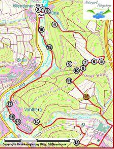 Karte Kapelle Ottfingen