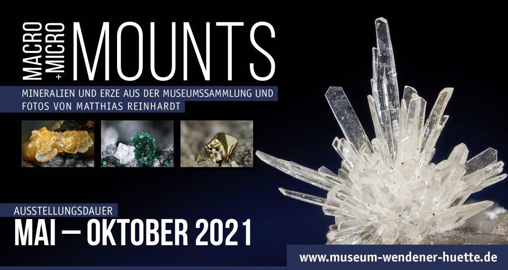 Zauberwelt der Minerale ab dem 01. Juni 2021 im Museum Wendener Hütte 1